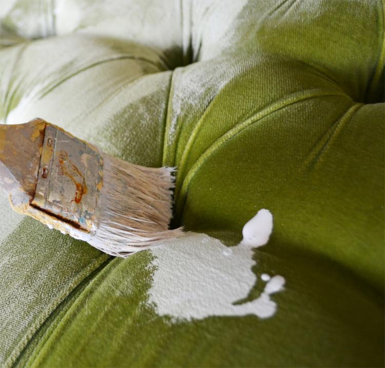 Перекраска мягкой мебели