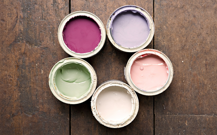 Быстросохнущая краска для мебели без запаха